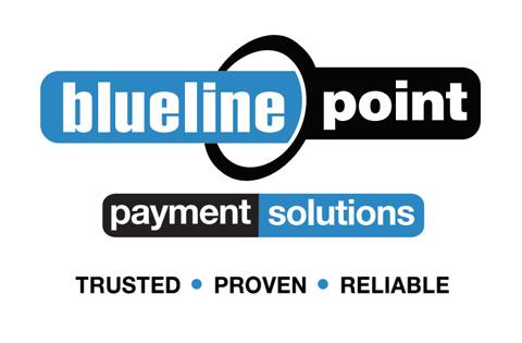 blueline point logo